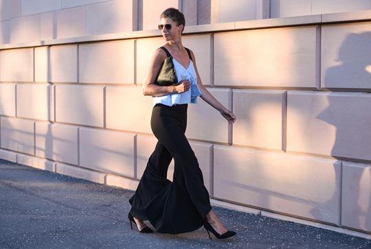 Zara Ellery flare trousers - Thankfifi Glasgow fashion blog-4