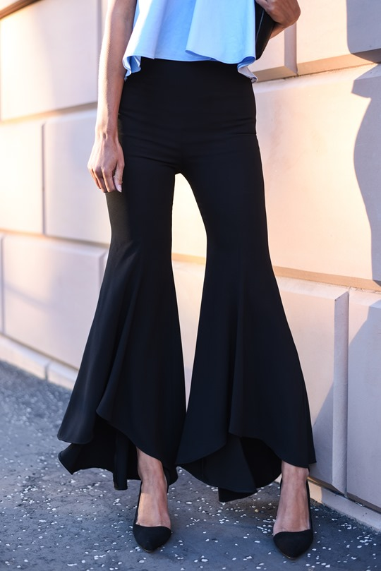 Zara Ellery flare trousers - Thankfifi Glasgow fashion blog-6