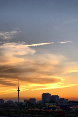 Berlin-sunset-tv-tower