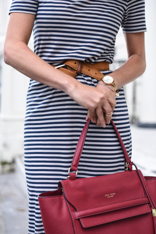 Henri Bendel Bedford satchel & J Brand white demented jeans - Thankfifi Scottish fashion blog-11