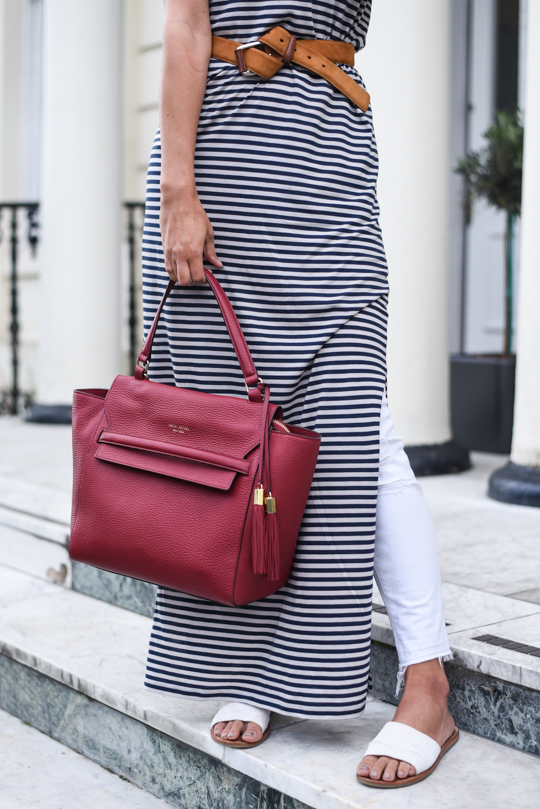 Henri Bendel Bedford satchel & J Brand white demented jeans - Thankfifi Scottish fashion blog-13