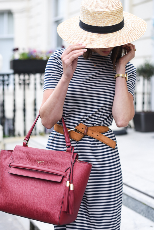Henri Bendel Bedford satchel & J Brand white demented jeans - Thankfifi Scottish fashion blog-7