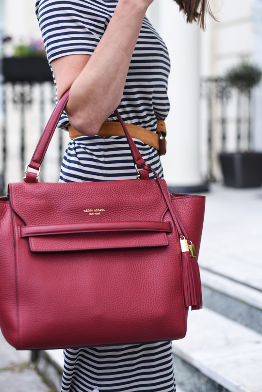 Henri Bendel Bedford satchel & J Brand white demented jeans - Thankfifi Scottish fashion blog-9