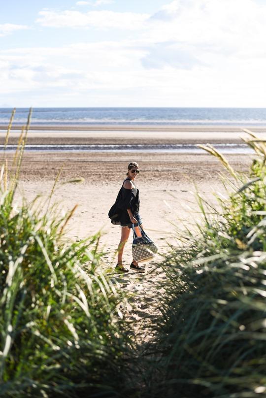 Lost Ink cold shoulder top - Thankfifi Scottish fashion blog-2
