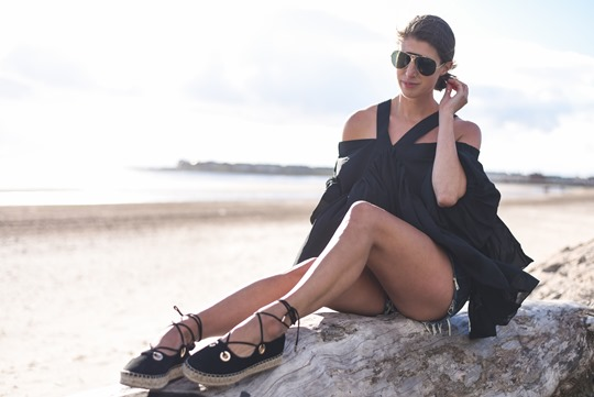 Lost Ink cold shoulder top - Thankfifi Scottish fashion blog-8