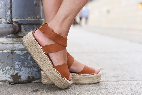 Marc O Polo flatorm espadrilles in Berlin - Thankfifi Scottish fashion travel blog