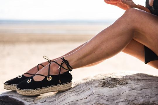 River Island lace up espadrilles - Thankfifi Scottish fashion blog-2