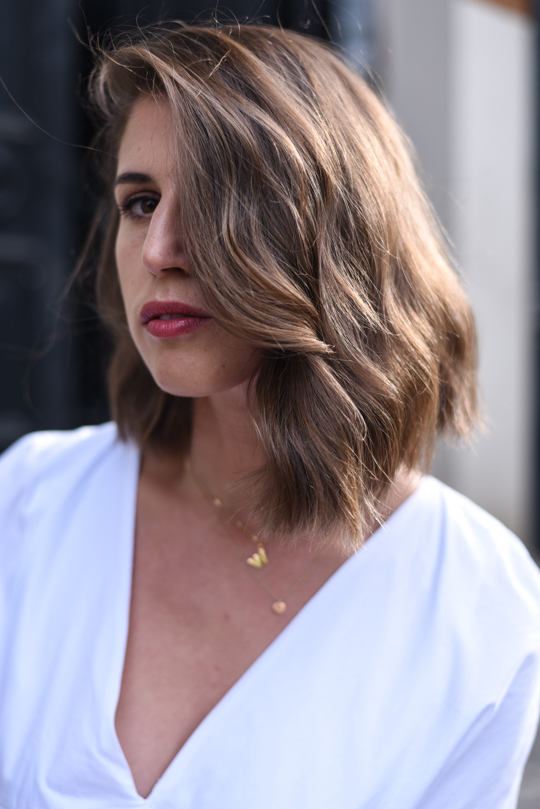 Sassoon Salon asymmetric lob beach waves - Thankfifi Scottish beauty blog-3
