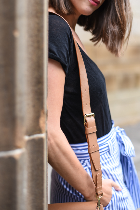 Zara stripe midi skirt - Thankfifi Scottish fashion blog-16