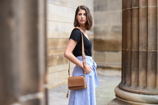 Zara stripe midi skirt - Thankfifi Scottish fashion blog-17