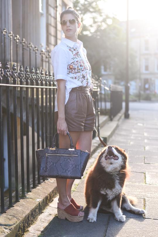 Henri Bendel Gotham Snake Tote Bag - Thankfifi Scottish fashion blog-2
