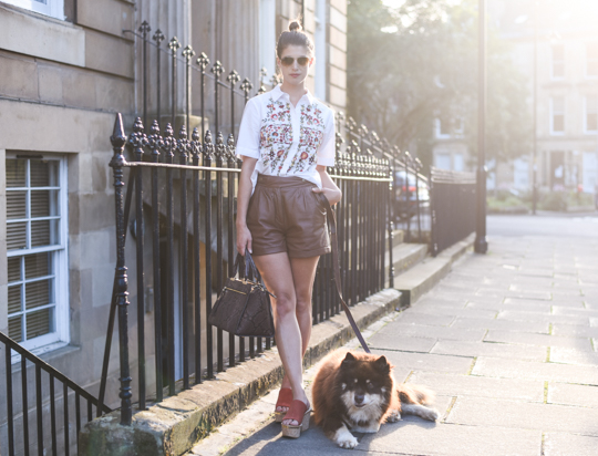 Henri Bendel Gotham Snake Tote Bag - Thankfifi Scottish fashion blog-3