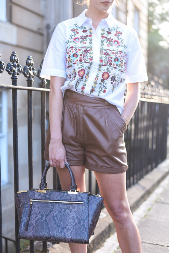 Henri Bendel Gotham Snake Tote Bag - Thankfifi Scottish fashion blog-5