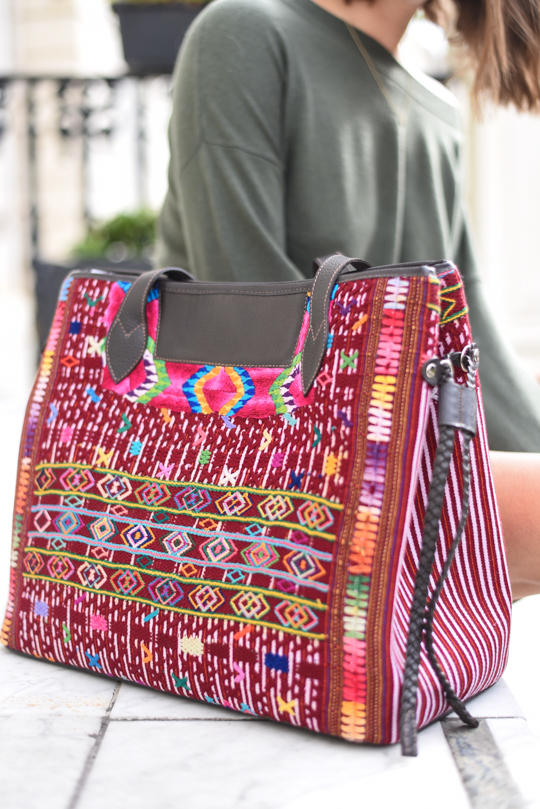 Maria's Bag, hand crafted in Gautemala - Thankfifi Scottish fashion blog-10