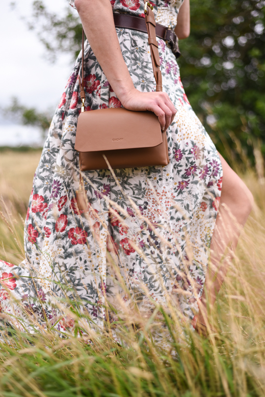 Zara floral button maxi dress - Thankfifi Scottish fashion blog-16
