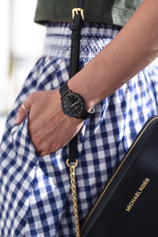 Christian Paul black raw mesh watch 35mm - Thankfifi Scottish fashion blog-4