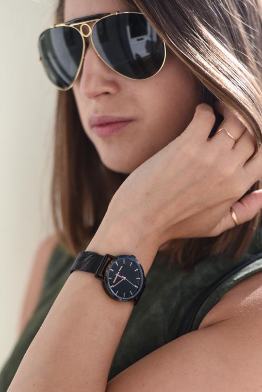 Christian Paul black raw mesh watch 35mm - Thankfifi Scottish fashion blog-5