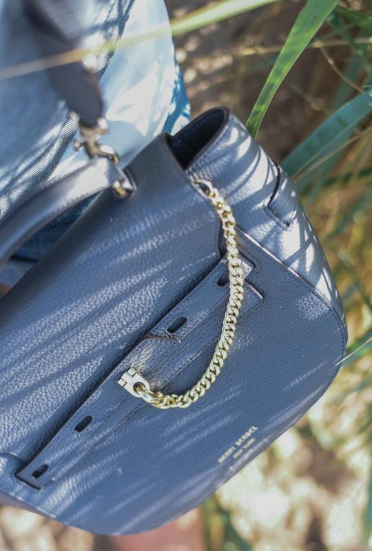 Henri Bendel Gramercy Messenger Bag in Magnet - Thankfifi Scottish travel blog-4