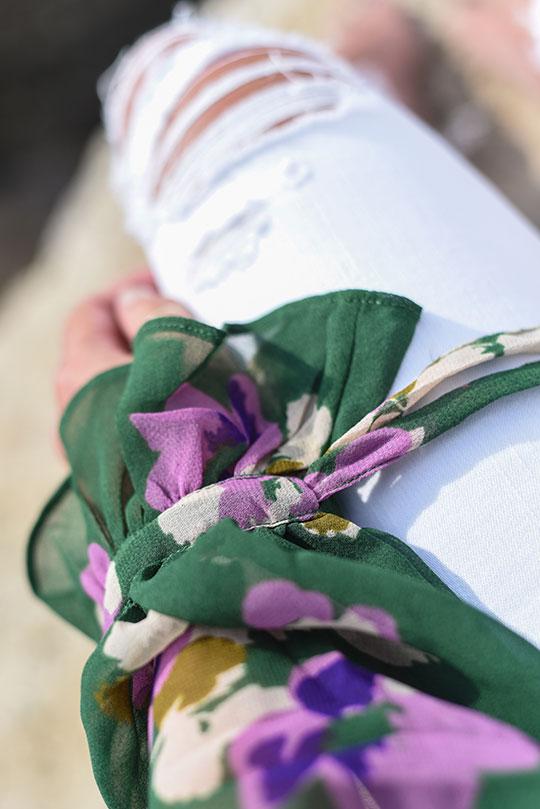 asos-green-floral-ruffle-blouse-vernazza-harbour-thankfifi-scottish-travel-blog-6