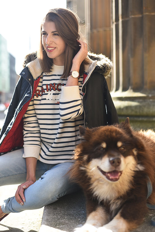 barbour-house-of-fraser-glasgow-thankfifi-scottish-fashion-blog-10