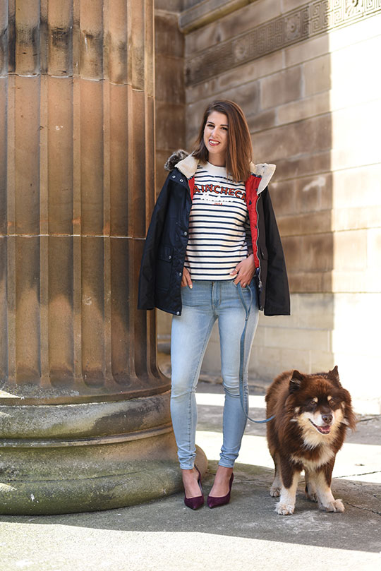 barbour-house-of-fraser-glasgow-thankfifi-scottish-fashion-blog