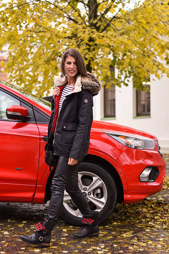 barbour-kelsall-jacket-ford-kuga-st-line-in-red-thankfifi-scottish-travel-blog-1