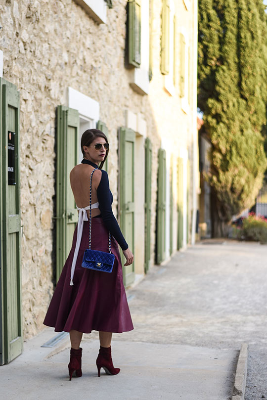 chateau-lhospitalet-chanel-blue-velvet-flap-bag-thankfifi-scottish-travel-blog-1