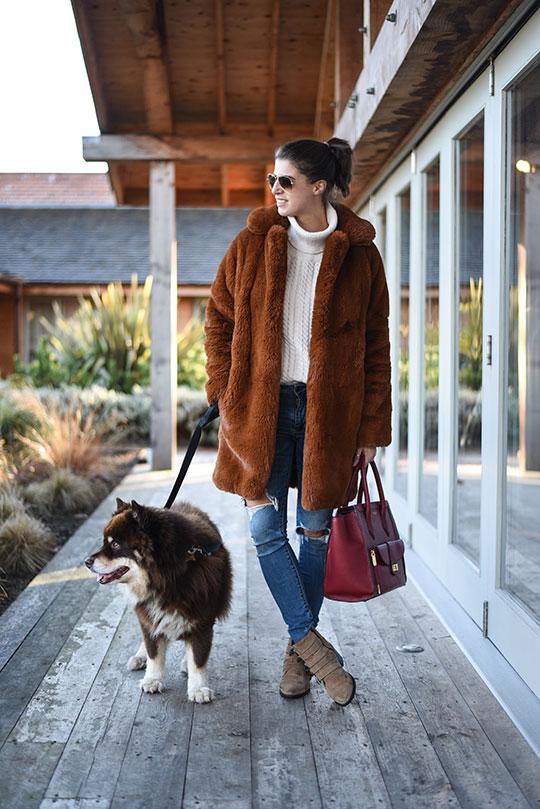 karen-millen-teddy-fur-coat-thankfifi-scottish-fashion-blog-1