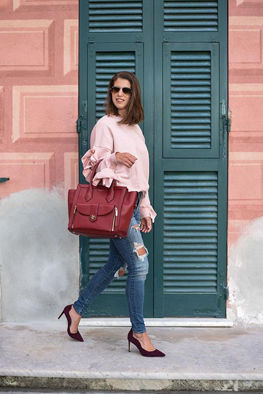 storets-leria-pink-ruffle-sleeve-top-henri-bendel-rivington-tote-thankfifi-scottish-fashion-blog-7
