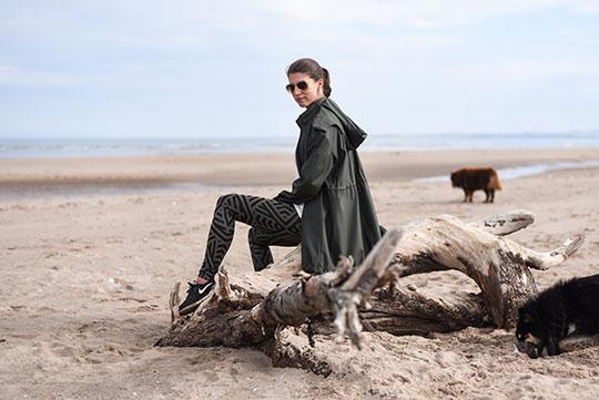 Lululemon-leggings,-Sweaty-Betty-tank-&-Zara-raincoat,-Tentsmuir-beach---Thankfifi-Scottish-travel-blog-1