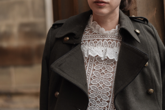 Monsoon victoriana lace blouse & Henri Bendel Cooper Crossbody - Thankfifi Scottish fashion blog-11