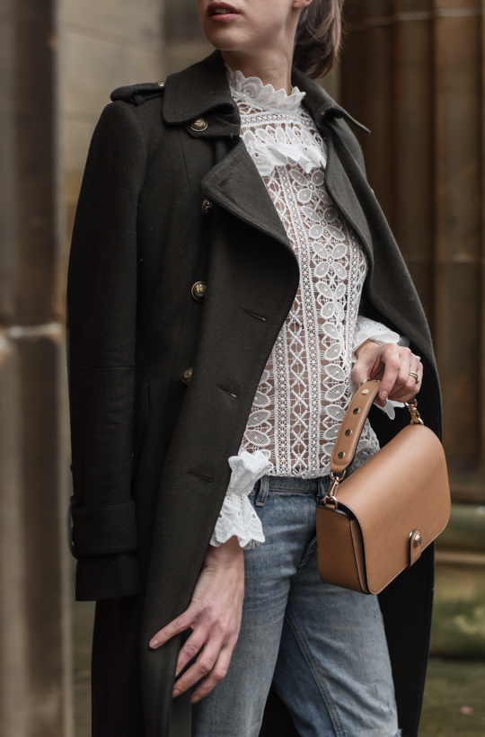Monsoon victoriana lace blouse & Henri Bendel Cooper Crossbody - Thankfifi Scottish fashion blog-9